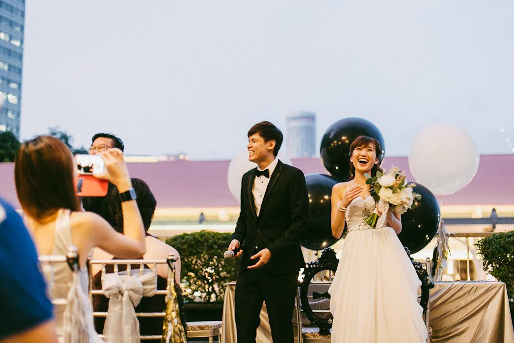 Candid photojournalistic wedding photography Fullerton Bay Hotel