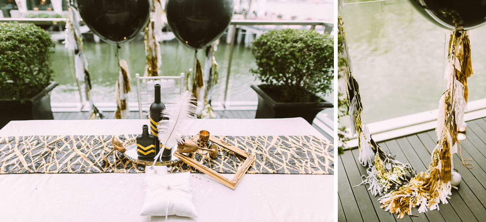 Great Gatsby Wedding Styling by MerryLove Weddings
